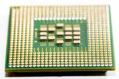 fermez-vous des circuits électroniques en technologie sur le fond d'ordinateur de Mainboard photographie stock libre de droits