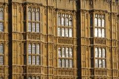 Fermez-vous des fenêtres du Parlement Images libres de droits