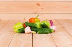 Fermez-vous des légumes Photos stock
