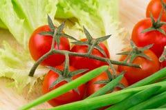 Fermez-vous des légumes Images stock