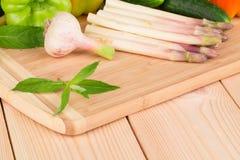 Fermez-vous des légumes Photo stock