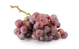 Fermez-vous des raisins rouges Photo libre de droits