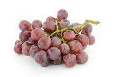 Fermez-vous des raisins rouges Image stock