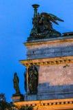 Fermez-vous des sculptures sur le saint Isaac& x27 ; cathédrale de s dans le St Petersbourg, Russie photos libres de droits
