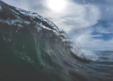 Fermez-vous des vagues Photos libres de droits