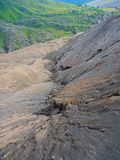 Fermez-vous du bâti Bromo, le bâti actif Bromo est l'une des attractions touristiques les plus visitées dans Java-Orientale Photographie stock libre de droits