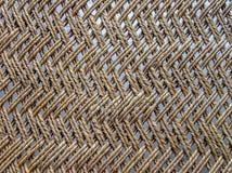Fermez-vous du berceau en bois palmé, Inde photographie stock