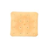 Fermez-vous du biscuit de soude de saltine Photographie stock