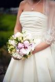 Fermez-vous du bouquet de mariage Image stock