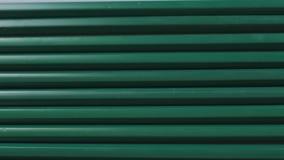 Fermez-vous du groupe de crayons identiques de graphite banque de vidéos