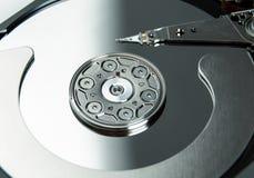 Fermez-vous du lecteur de disque dur ouvert HDD d'ordinateur Photos libres de droits