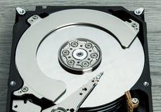 Fermez-vous du lecteur de disque dur ouvert HDD d'ordinateur Photo libre de droits