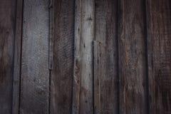 Fermez-vous du mur fait de planches en bois image stock
