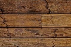 Fermez-vous du mur fait en en bois Image libre de droits