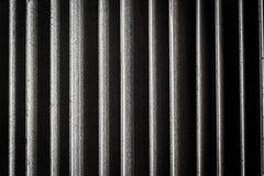 Fermez-vous du radiateur, fond abstrait Photographie stock libre de droits