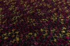 Fermez-vous du tissu coloré avec le fond de texture de textile photographie stock