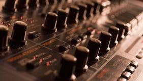 Fermez-vous du vintage Synth Image libre de droits