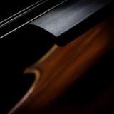 Fermez-vous du violon Photographie stock libre de droits