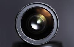Fermez-vous du zoom de dslr photographie stock libre de droits