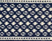 Fermez-vous sur la texture de laine de knit Photos libres de droits
