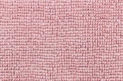 Fermez-vous sur le tissu rose Photo stock