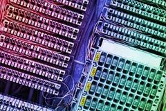 Fermez-vous vers le haut d'électronique abstrait Photo libre de droits