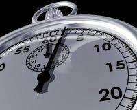 Fermez-vous vers le haut d'un chronomètre Image stock