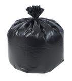 Fermez-vous vers le haut d'un sac d'ordures photographie stock