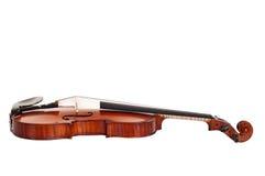 Fermez-vous vers le haut d'un violon Image stock
