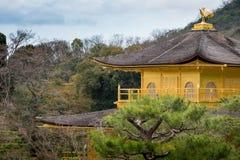 Fermez-vous vers le haut de Kinakakuji Photos libres de droits
