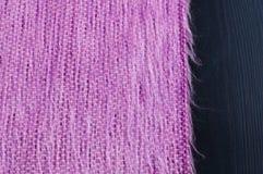 Fermez-vous vers le haut de l'écharpe de laine Photographie stock libre de droits