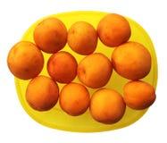 Fermez-vous vers le haut de l'abricot Photographie stock libre de droits