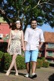Fermez-vous vers le haut de l'amour de couples Photo libre de droits