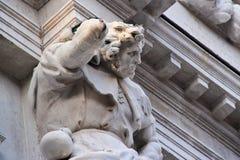Fermez-vous vers le haut de l'extérieur du dell'Ori de San Giacomo Image stock