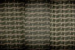 Fermez-vous vers le haut de l'image du tapis noir de tiret avec des cellules de grille Image libre de droits