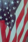 Fermez-vous vers le haut de l'indicateur américain Photographie stock libre de droits