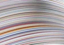 Fermez-vous vers le haut de la magazine Image libre de droits