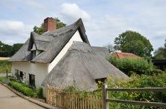 Fermez-vous vers le haut de la maison anglaise Photos stock