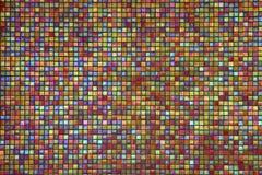 Fermez-vous vers le haut de la mosaïque colorée Image libre de droits