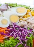 Fermez-vous vers le haut de la nourriture saine Image stock