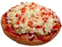 Fermez-vous vers le haut de la pizza Photo libre de droits