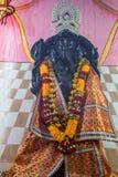 Fermez-vous vers le haut de la statue d'un dieu indou Ganesha Images stock