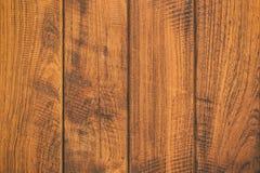 Fermez-vous vers le haut de la table en bois rustique avec la texture de grain dans le style de vintage Photographie stock libre de droits