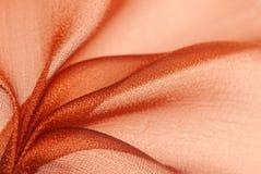 Texture de tissu d'organza Image stock