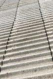 Fermez-vous vers le haut de la texture de toit d'amiante Photos stock