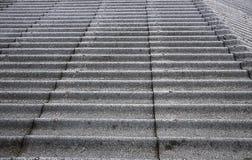 Fermez-vous vers le haut de la texture de toit d'amiante Image libre de droits