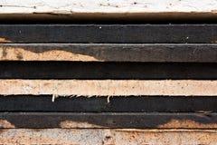 Fermez-vous vers le haut de la texture en bois de brame Photos libres de droits