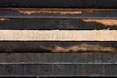 Fermez-vous vers le haut de la texture en bois de brame Images libres de droits