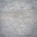 Fermez-vous vers le haut de la texture et du fond gris de tissu Image libre de droits