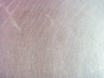 Fermez-vous vers le haut de la texture inoxydable en métal Photo libre de droits